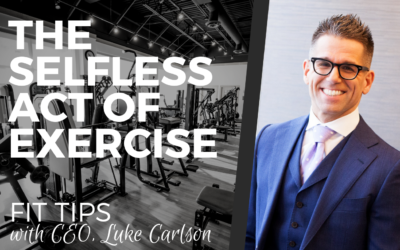 THE SELFLESS ACT OF EXERCISE