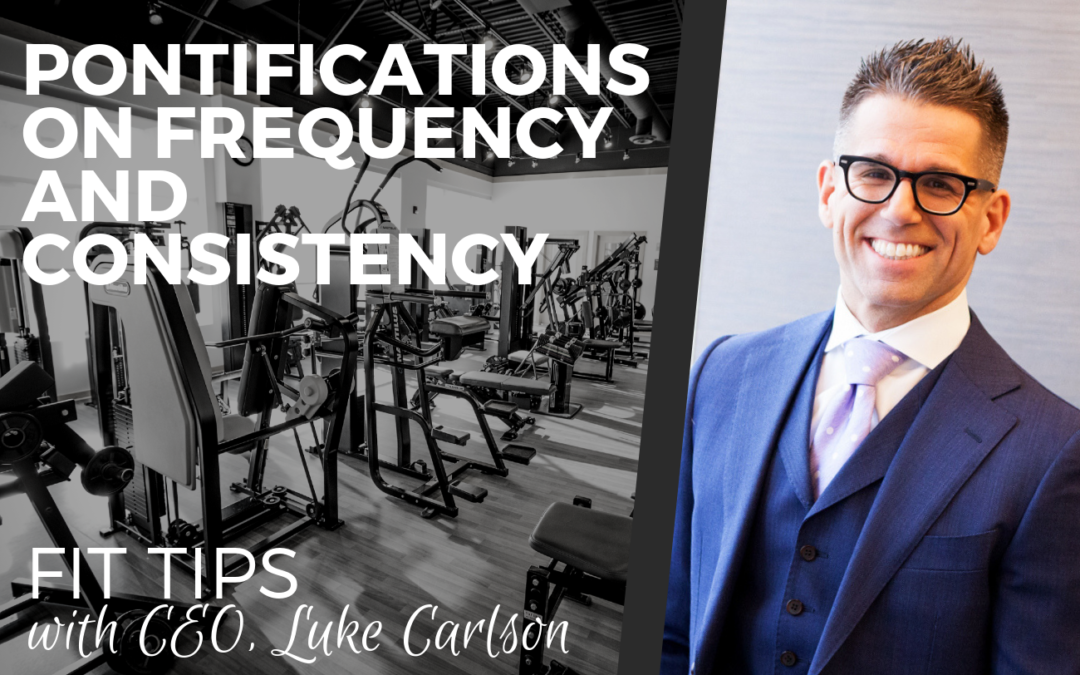 PONTIFICATIONS ON FREQUENCY AND CONSISTENCY