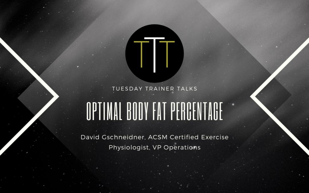 OPTIMAL BODY FAT PERCENTAGE