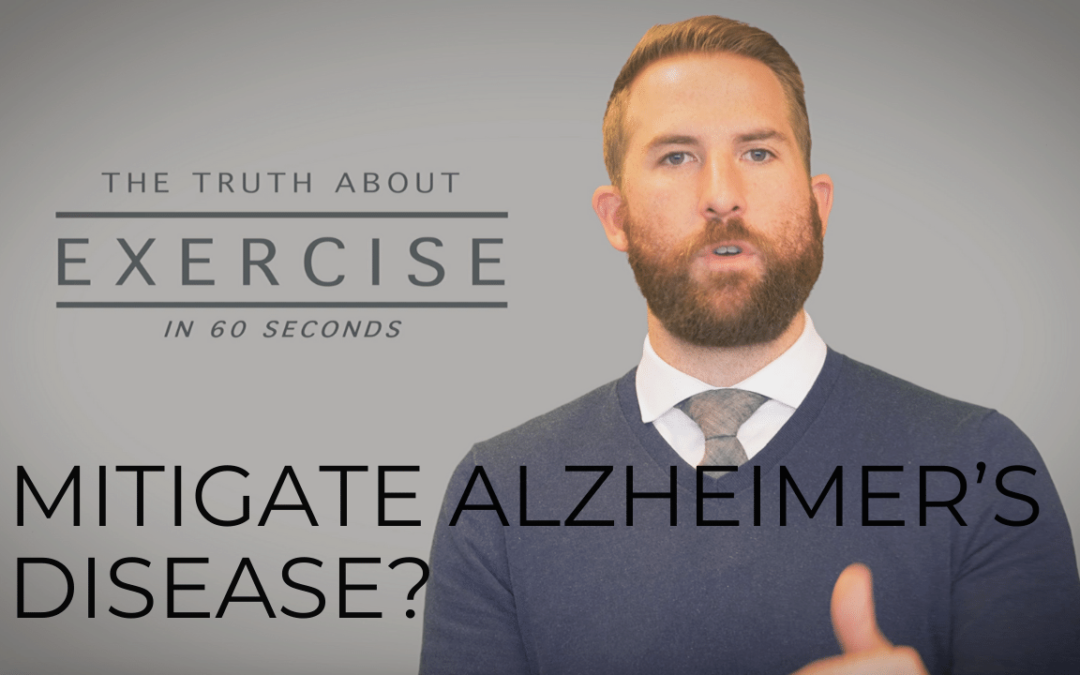 Can Exercise Help Mitigate Alzheimer's Disease