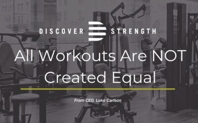 All workouts are NOT created equal