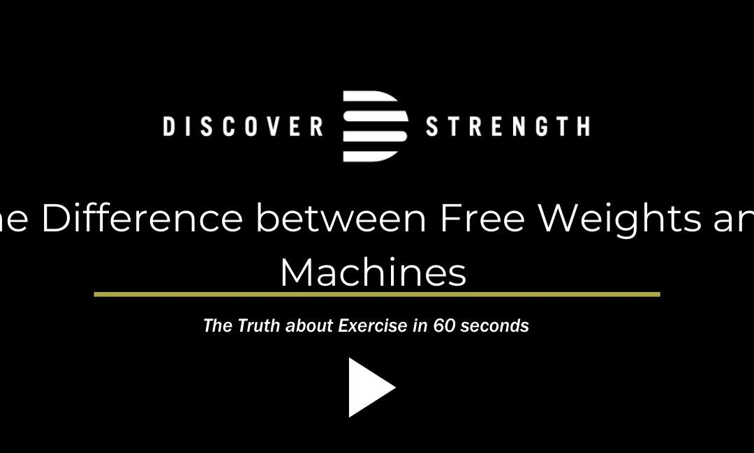 The Difference between Free Weights and Machines