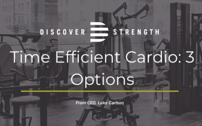 Time Efficient Cardio: 3 Options