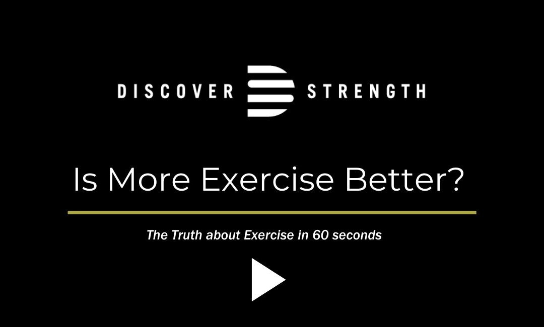 Is More Exercise Better?