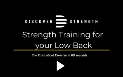 Strength Training for the Low Back