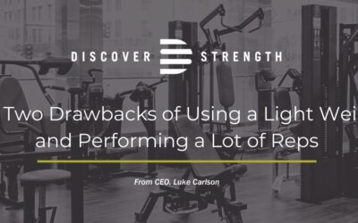 The Two Drawbacks of Using a Light Weight and Performing a Lot of Reps