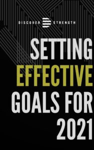 Setting effective goals for 2021