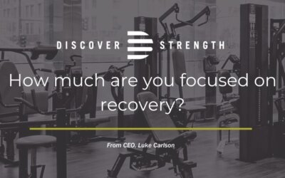 Recovery from your workouts