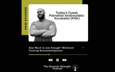 Episode 10: How Much is Just Enough? Minimum Training Recommendations