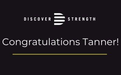 Congratulations Tanner!