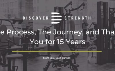 The Process, The Journey, and Thank You for 15 Years