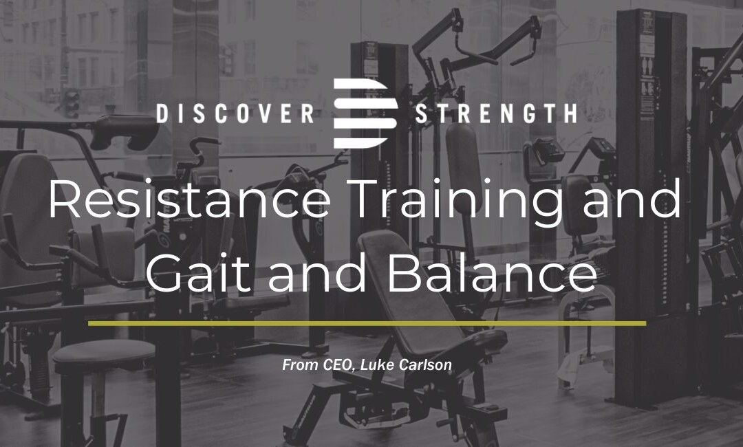 Resistance Training and Gait and Balance: New Systematic Review