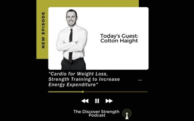 """""""Cardio for Weight Loss, Strength Training to Increase Energy Expenditure"""""""