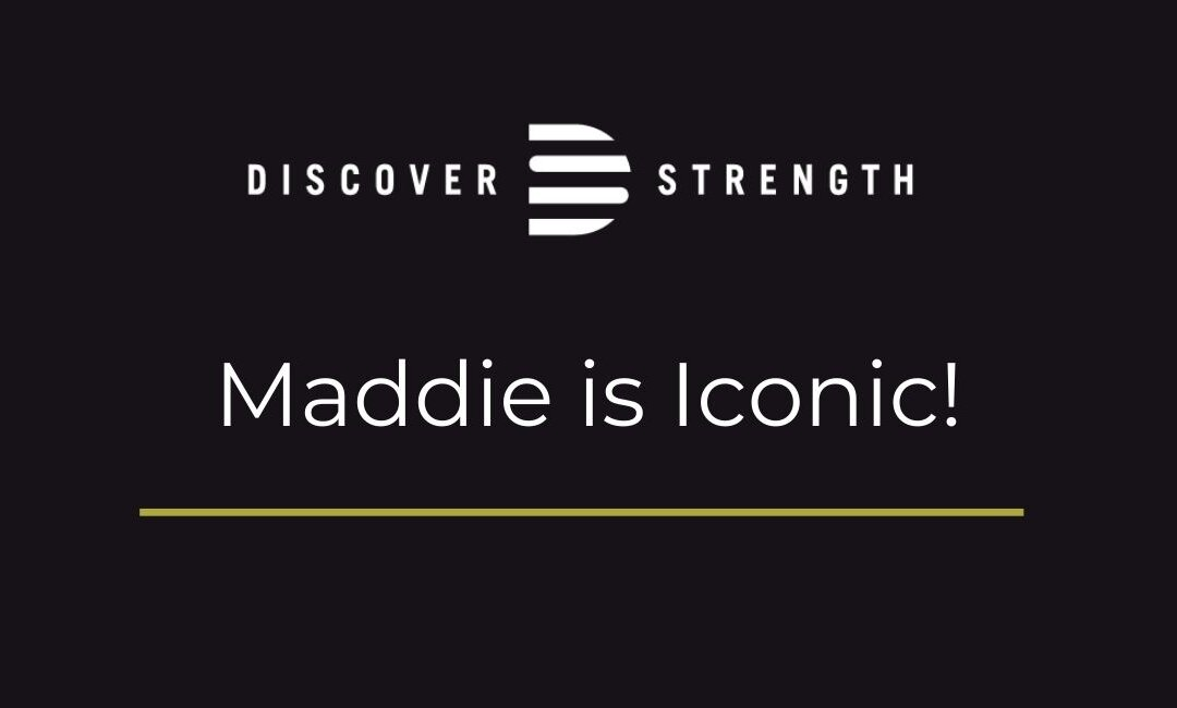 Maddie becomes Iconic!
