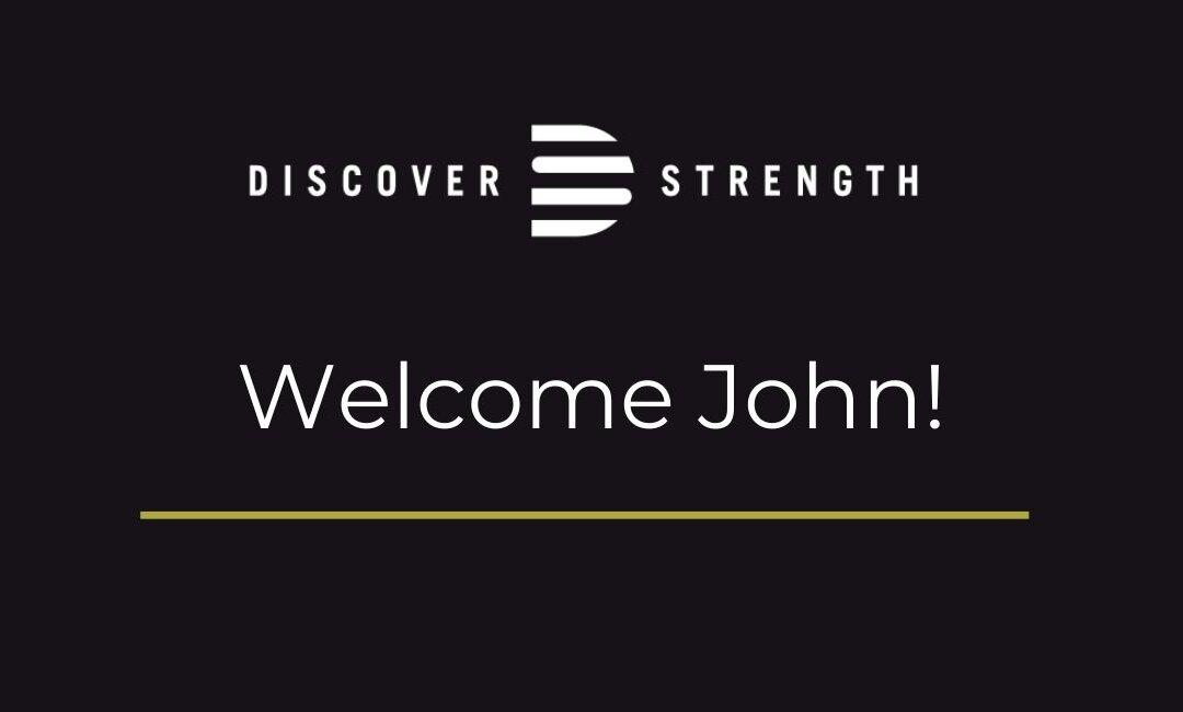 Welcome John!