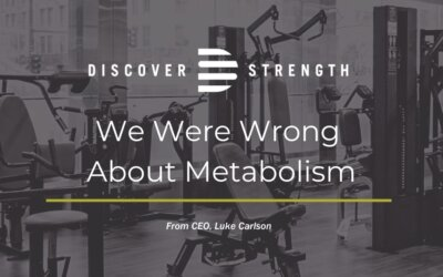 We were wrong about metabolism